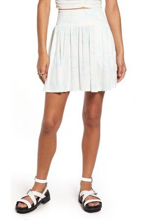 BP. Women's Bandana Print Knit Miniskirt