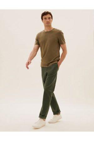 Marks & Spencer Men Chinos - Regular Fit Stretch Chinos