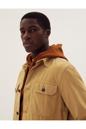 Marks & Spencer Pure Cotton Garment Dyed Overshirt