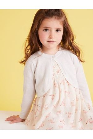Cotton Glitter Cardigan (2-7 Yrs)