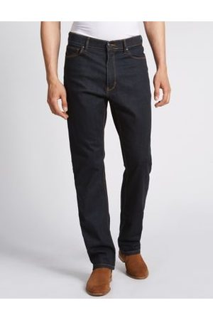 Marks & Spencer Big & Tall Regular Fit Stretch Jeans with Stormwear™