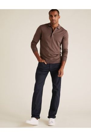 Marks & Spencer Straight Fit Super Stretch Performance Jeans