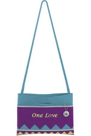 The Sak Custom Recycled Ocean Crochet Convertible Crossbody One Love Bag