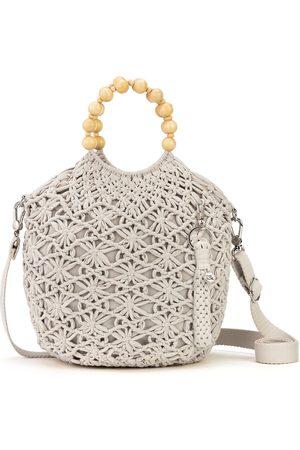 The Sak Gaia Crochet Bracelet Crossbody Bag