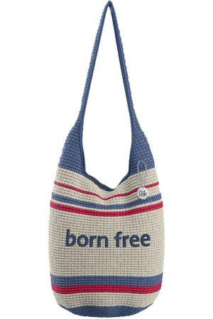 The Sak Custom Recycled Ocean Crochet 120 Hobo Born Free Bag