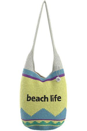 The Sak Custom Recycled Ocean Crochet 120 Hobo Beach Life Bag