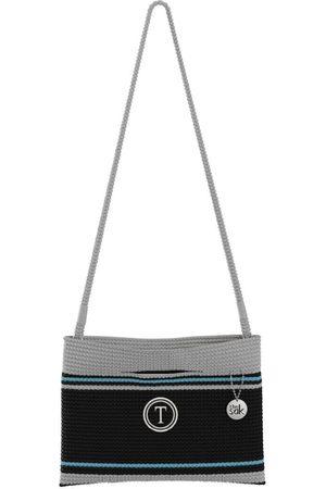 The Sak Custom Recycled Ocean Crochet Convertible Crossbody Balance T Circle Bag