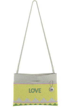 The Sak Custom Recycled Ocean Crochet Convertible Crossbody Love Bag