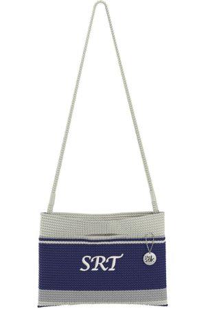 The Sak Custom Recycled Ocean Crochet Convertible Crossbody DCN SRT Bag