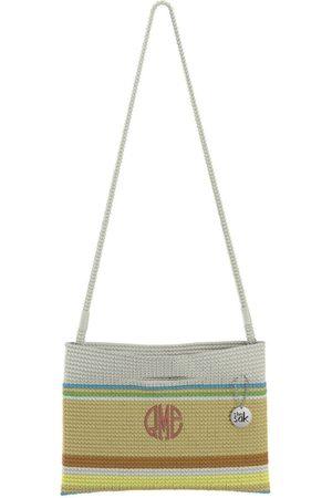 The Sak Custom Recycled Ocean Crochet Convertible Crossbody RME Monogram Bag