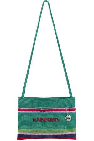 The Sak Custom Recycled Ocean Crochet Convertible Crossbody Rainbows Bag
