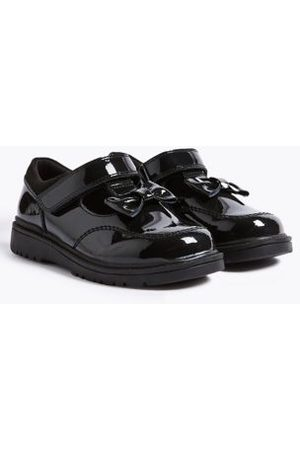 Kids' Leather T-Bar School Shoes (8 Small