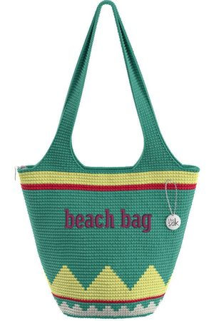 The Sak Custom Recycled Ocean Crochet Large Tote Beach Bag