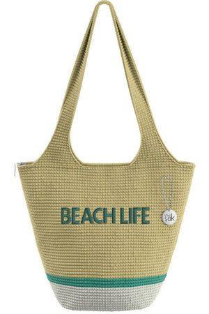 The Sak Custom Recycled Ocean Crochet Large Tote Beach Life Bag