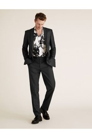Marks & Spencer Slim Fit Trousers with Stretch