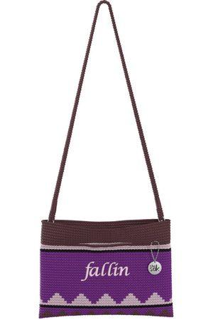 The Sak Custom Recycled Ocean Crochet Convertible Crossbody Fallin Bag