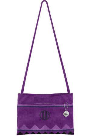 The Sak Custom Recycled Ocean Crochet Convertible Crossbody Dreamer DRG Monogram Bag