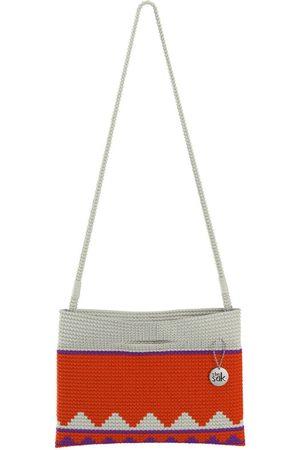 The Sak Custom Recycled Ocean Crochet Convertible Crossbody CPP Cayenne Multi Bag