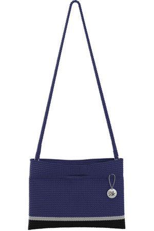 The Sak Custom Recycled Ocean Crochet Convertible Crossbody Reflect Block Bag
