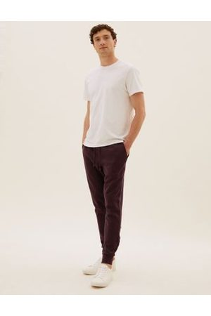 Marks & Spencer Cuffed Cotton Joggers