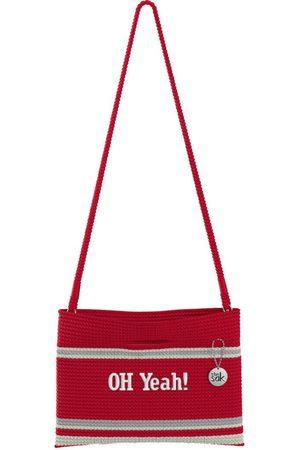The Sak Custom Recycled Ocean Crochet Convertible Crossbody NCR Stripe Oh Yeah Bag