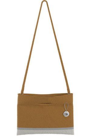 The Sak Custom Recycled Ocean Crochet Convertible Crossbody Restore Bamboo Block Bag