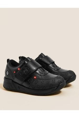 Kids' Leather Light-Up Spider-Man™ School Shoes (8 Small