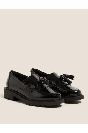 Kids' Leather Slip-on School Shoes (13 Small