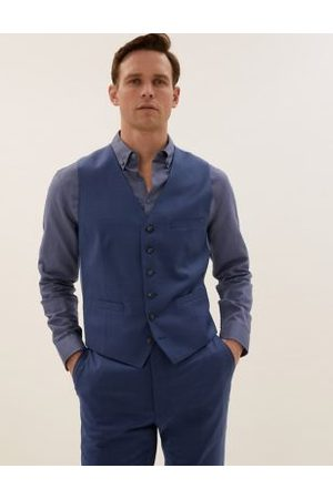 Marks & Spencer Tailored Fit Wool Waistcoat
