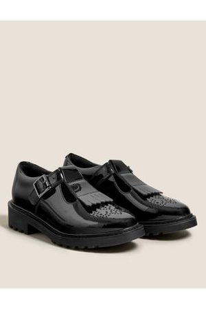 Kids' Leather Freshfeet™ School Shoes (13 Small