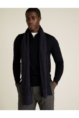 Marks & Spencer Knitted Textured Scarf