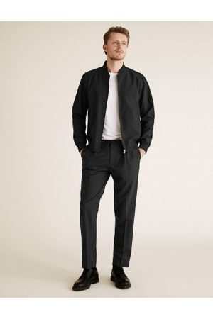 Marks & Spencer The Ultimate Slim Fit Wool Trousers