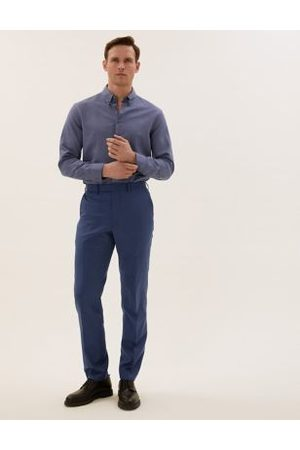 Marks & Spencer Tailored Fit Wool Trousers