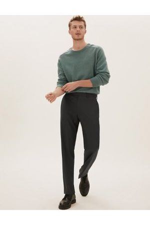 Marks & Spencer Regular Fit Trousers with Stretch