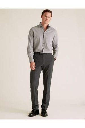 Marks & Spencer Big & Tall Tailored Fit Wool Trousers