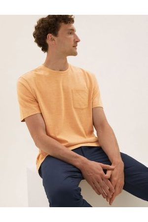 Marks & Spencer Pure Cotton Textured T-Shirt