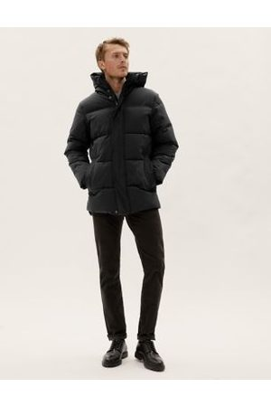 Marks & Spencer Hooded Puffer Jacket with Thermowarmth™