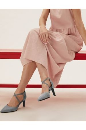 Marks & Spencer Wide Fit Stiletto Heel Court Shoes