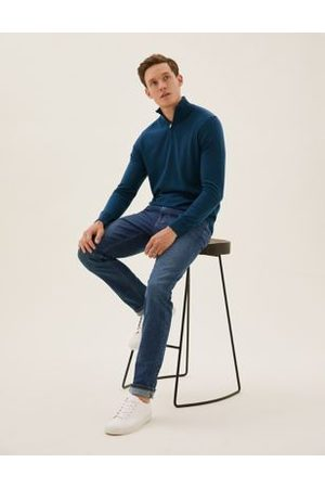 Marks & Spencer Organic Cotton Slim Fit Stretch Jeans