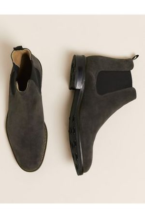 Marks & Spencer Suede Pull-On Chelsea Boots