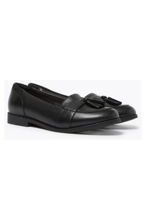 Kids' Leather Freshfeet™ Loafers (13 Small