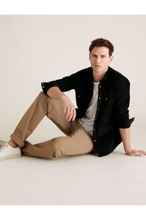 Marks & Spencer Regular Fit Organic Cotton Ultimate Chinos