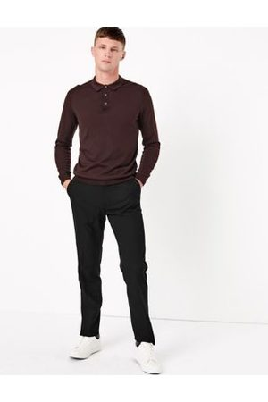 Marks & Spencer Slim Fit Stretch Trousers