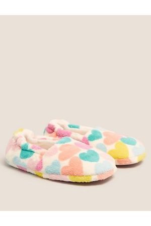 Kids' Heart Slippers (13 Small