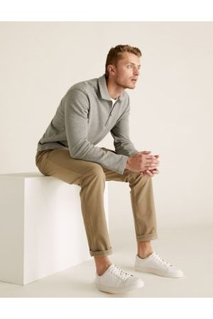 Marks & Spencer 2 Pack Slim Fit Stretch Chinos
