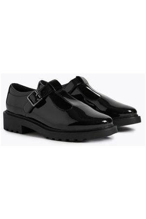 Kids' Leather T-Bar School Shoes (13 Small
