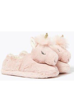 Kids' Unicorn Slippers (5 Small