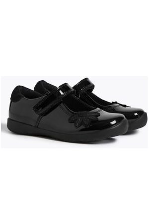 Kids Patent Leather T-Bar School Shoes (8 Small