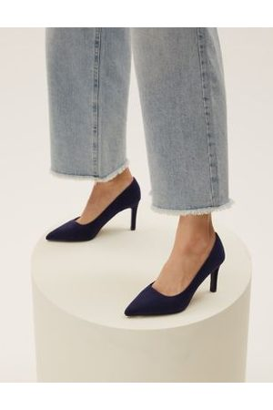 Marks & Spencer Stiletto Heel Pointed Court Shoes