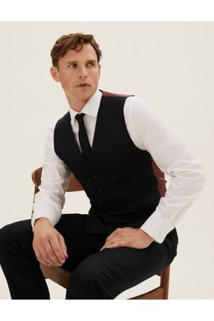 Marks & Spencer Tailored Fit Waistcoat with Stretch